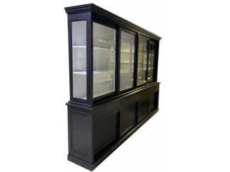 Buffetkast zwart - wit Born 300 50/40 x 220cm