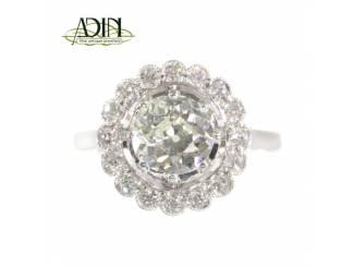 Vintage diamanten verlovingsring