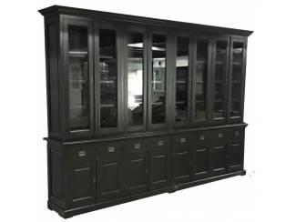 Buffetkast Dronten XL zwart - zwart 350 x 240cm