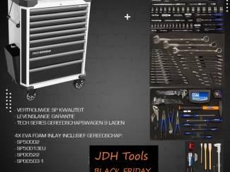 Black Friday Tech Series gereedschapwagen 205-delig SPBF033