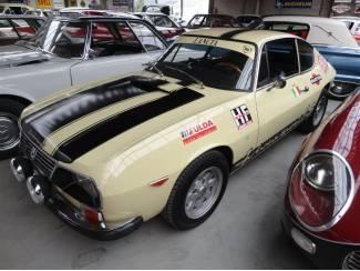 Erg mooie Lancia Zagato 4 cil. 1300cc 1972
