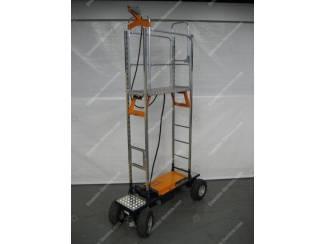 Luchtbandenwagen Easy Track Berg Hortimotive 230 cm.