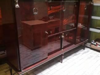 dressoir + vitrine kast