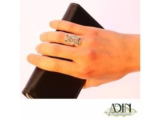 Vintage verlovingsring met roemrijke diamanten.