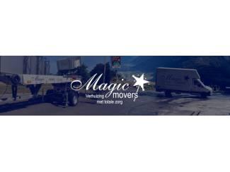 Auto en Vervoer Magic Movers is de verhuisspecialist in uw regio