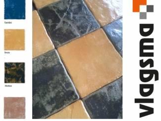 Eco maestri 20x20 cm estrik plavuizen in 4 kleuren