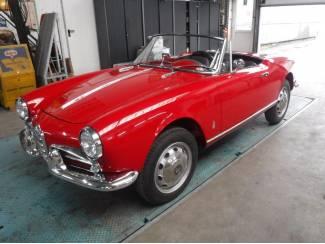 Alfa Romeo 1300 spider 750 1960