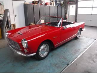 Lancia Appia cabrio 1961