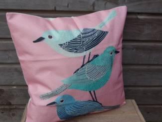 Kussenhoes Hazel | Vogels | Nordic | 45 x 45 cm