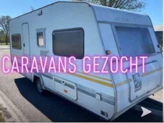 Gezocht Diverse Tandemassers Caravans Bouwjaren en Types