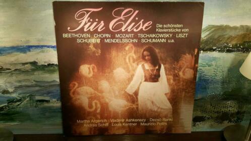 """2 LP 12"""" + hoes: Fur Elise, Klavierstucke, 26 238-6"""
