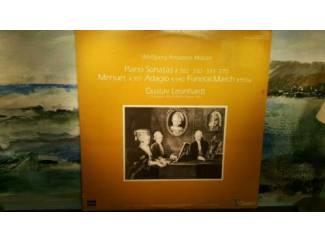 """2 LP 12"""" + hoes: Mozart,Piano Sonatas,FuneralMarch,AX-67044/"""