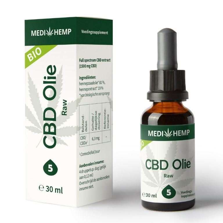 CBD olie producten en vitamines