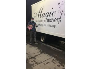 Auto en Vervoer Verhuizen zonder zorgen? Magic Movers