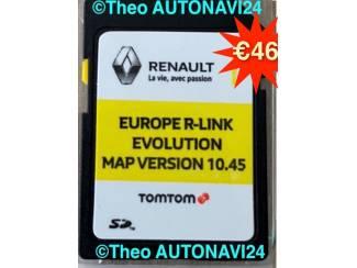 Renault R-Link tomtom SD kaart 10.45 Europa update 2020+2021