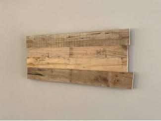 Wandpaneel Oud Eikenhout 105x40cm voor tekstbord of geboortebord