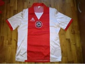 Origineel le coq sportif shirt Ajax jaren 80! Maat M 100 euro