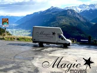 Auto en Vervoer Vakbekwaam verhuisd worden? Denk dan aan ons! Magic Movers