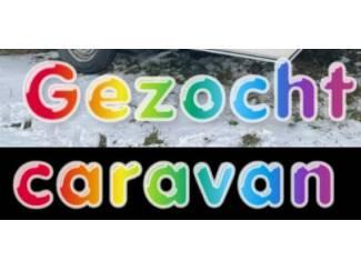 Caravans Gezocht Caravans van 3.50 mtr. t/m 5.00 mtr.