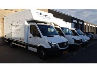 Auto en Vervoer Magic Movers uw specialist in verhuizingen en opslag!