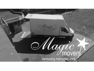 Verhuistoppers nodig Magic Movers ook in uw regio!