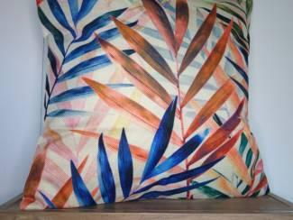 Kussenhoes River Jungle   Tropisch   Botanisch   45 x 45 cm
