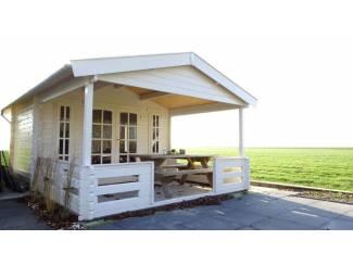 Tuinhuisjes en Meubelen Tuinhuis-Blokhut 3838: 380 x 380 x 258 (h) cm