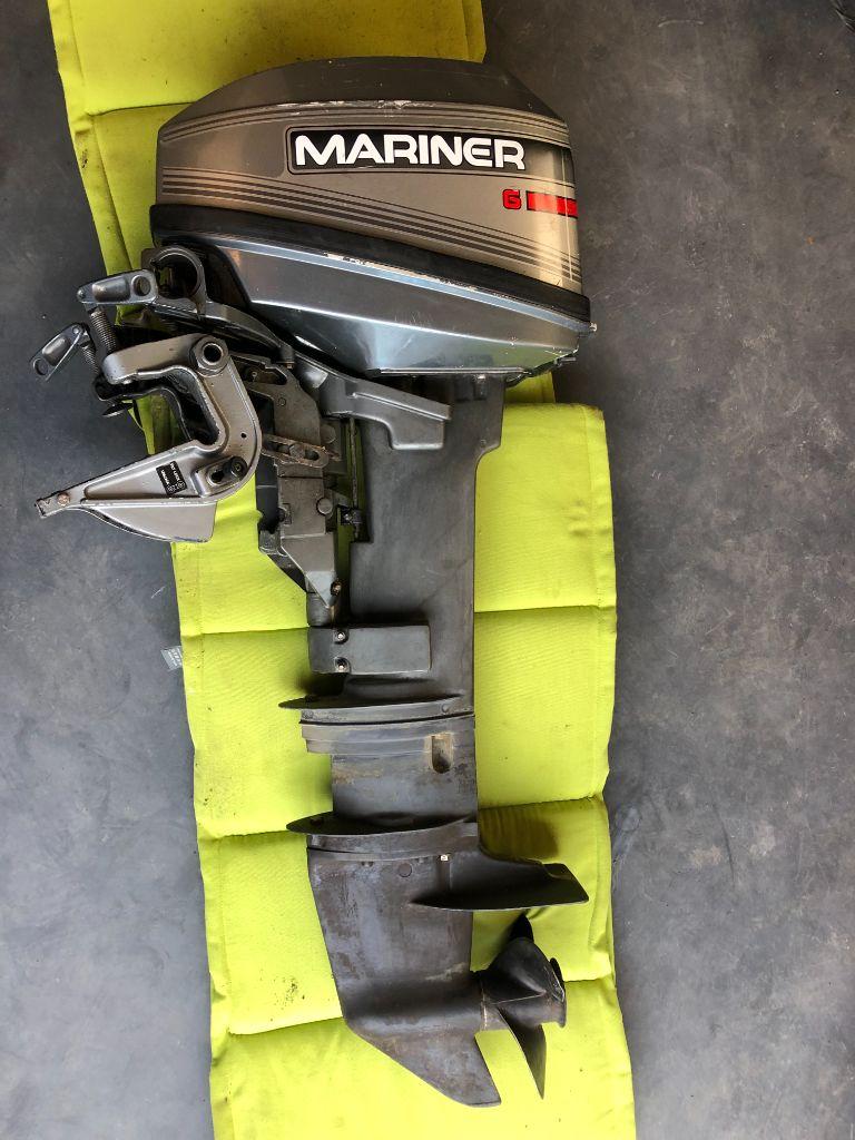 Mariner buitenboordmotor 6 pk langstaart 2-takt