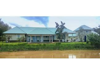 Te koop landhuis, net buiten ChiangRai, noord Thailand