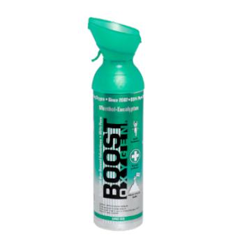 Boost zuurstof 9 liter menthol - eucalyptus
