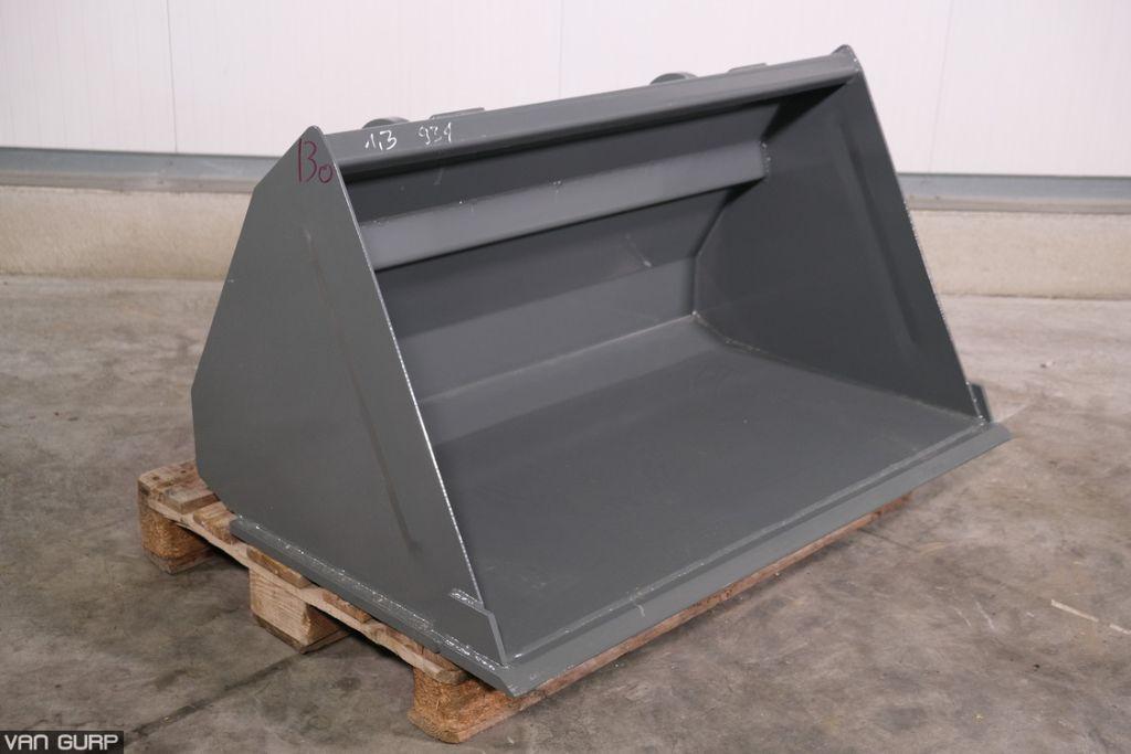 Weidemann Dichte bak 130cm BAK152285 aanbouwdelen