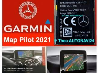 MERCEDES GARMIN MAP Pilot sd kaart 2021-2022 NIEUW A2139063007