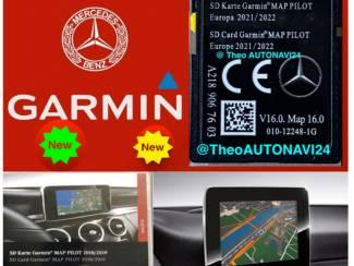 Mercedes Garmin map pilot europa 2022 v16 new A2189067603