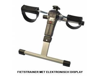 FIETSTRAINER MET ELEKTRONISCH DISPLAY