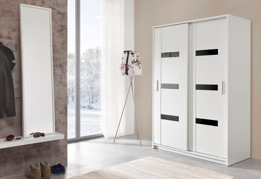 VOORRAAD Witte kledingkast 140 of 204 cm NU 269,- NIEUW