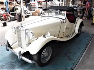 MG TD 1952 4 cil. 1250cc