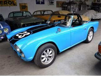 "Triumph TR4 1962 ""rally"""