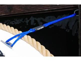 Accessoires en Toebehoren Flex Rope landvast / aanmeerlijn marine-blauw Set van 2 stuks