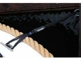 Accessoires en Toebehoren Flex Rope landvast / aanmeerlijn Zwart Set van 2 stuks