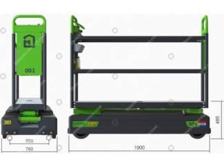 Tuinbouw Buisrailwagen GL3500-D Berkvens