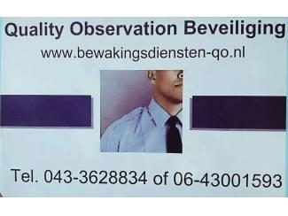 Quality Observation bewakingsdiensten