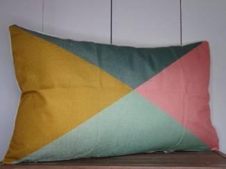 Kussenhoes Miami Colorblock - 30 x 50 cm