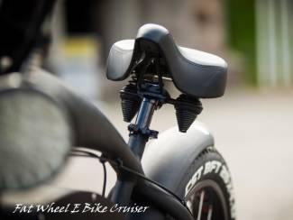 Fietsen   Algemeen Elektrische fiets Fatwheel EBike vintage cruiser fatbike 20Ah