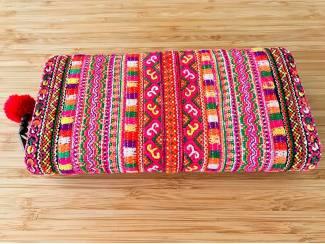 Traditionele Thaise geborduurde portemonnee of clutch