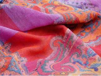 Accessoires Sjaal van wol handgeweven in India
