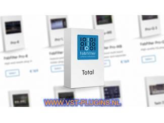 FabFilter Total Bundle FX Effects Bundel Complete VST - 2021