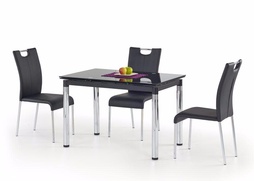 Direct leverbaar moderne zwarte eetkamerstoelen nu 69 for Zwarte eetkamerstoelen